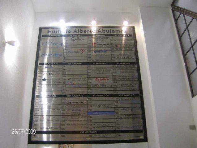 painel de sinalização